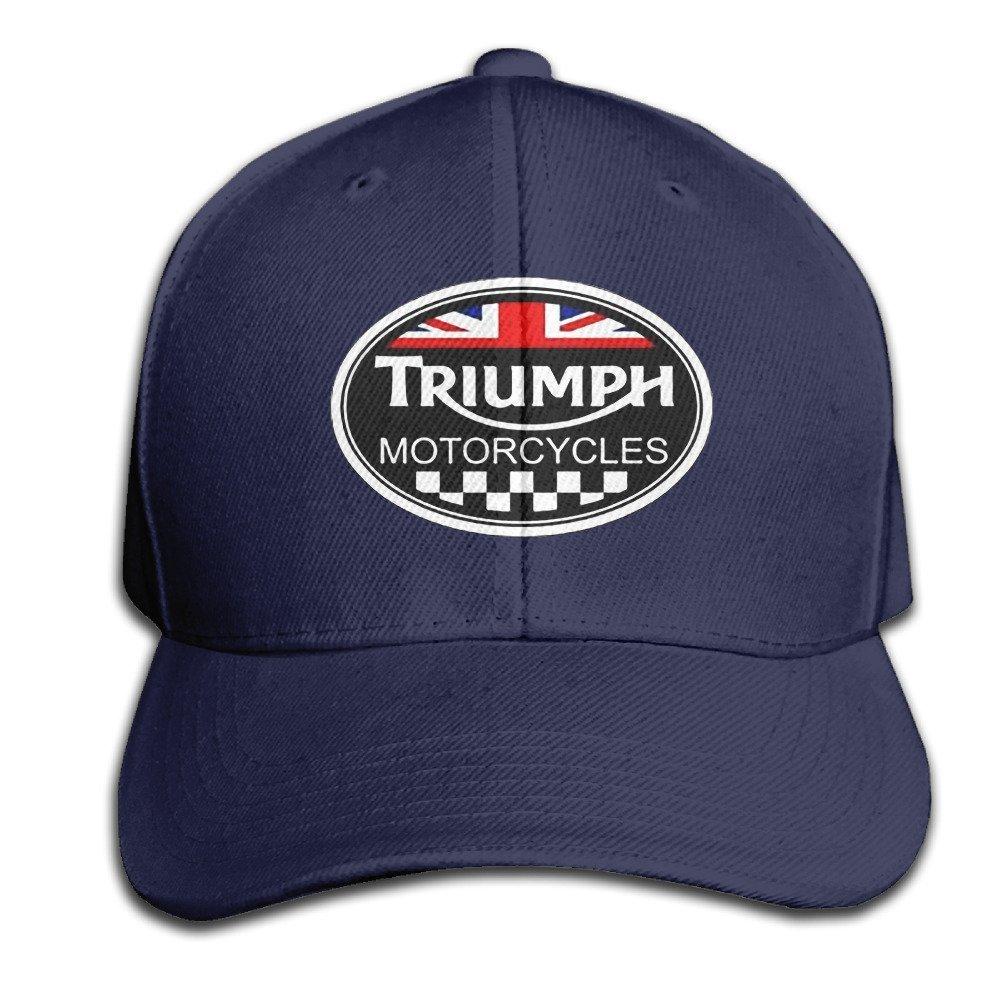 hittings GYB Home Unisex Adult Triumph Logo Black Solid Caps/snapback Hats/berretto da baseball/Caps/Hats Navy