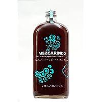 Botella de Mezcarindo 946 ml, Bebida Alcohólica Preparada a base de Destilado de Agave Espadín jóven, tamarindo natural y endulzada con jarabe de Agave Orgánico 12% Vol. Alcohol