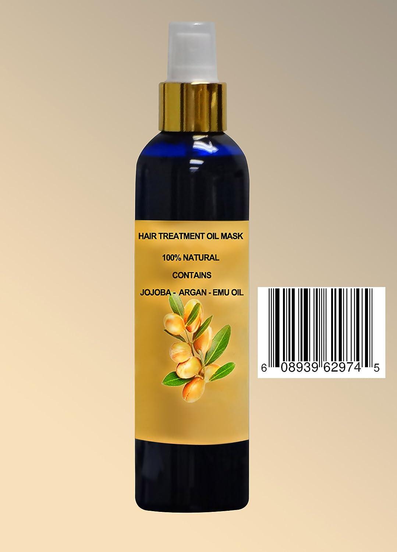 Argan Oil Treatment Contains Argan Moroccan Oil , Jojoba, Emu Oil