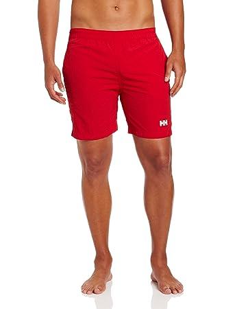 d16cd46268 Helly Hansen Men's Calshot Swim Trunks-Red, X-Large: Amazon.co.uk ...
