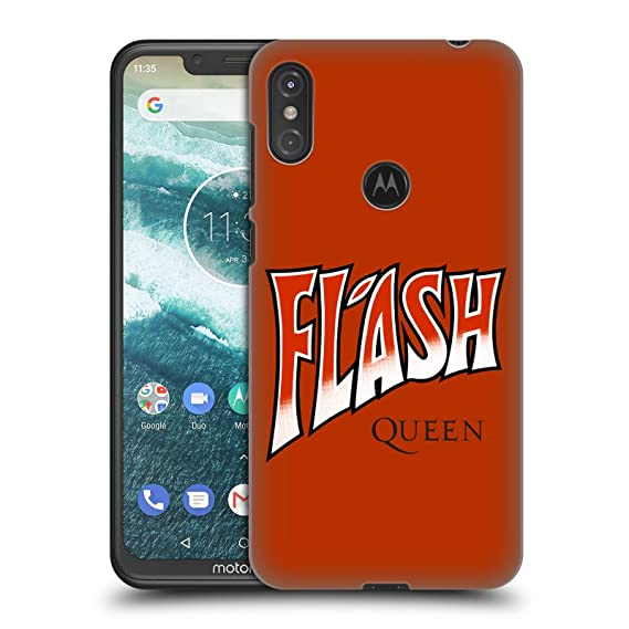 Amazon com: Official Queen Flash Key Art Hard Back Case for