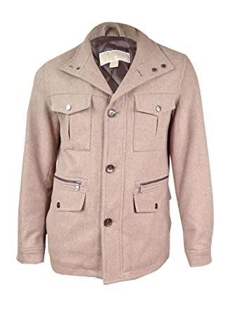 6ffb92246fbd Image Unavailable. Image not available for. Color  Michael Michael Kors  Men s Wool-Blend Field Coat ...