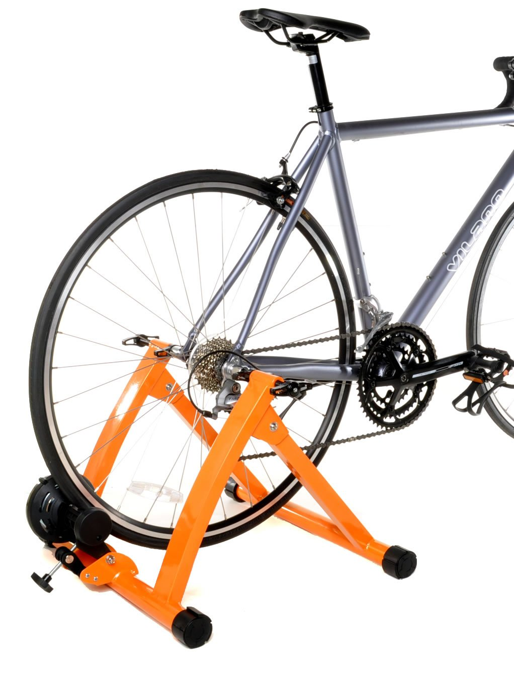 Conquer Indoor Bike Trainer Portable Exercise Bicycle Magnetic Stand by Conquer (Image #4)