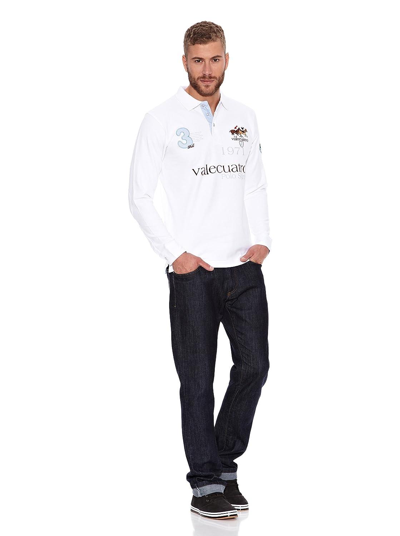 Valecuatro Polo Spirit Blanco M: Amazon.es: Ropa y accesorios