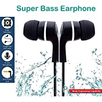 GKP PRODUCTS Super HD Bass Stereo Ear Earphone/Headphone with Mic for All Mobile Phones Model 258580