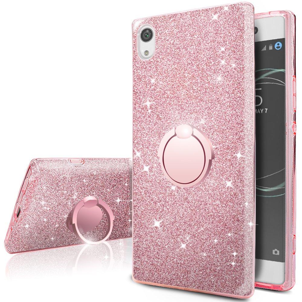 Funda Para Sony Xperia Xa1 Ultra Glitter Silverback [7dhmpq]