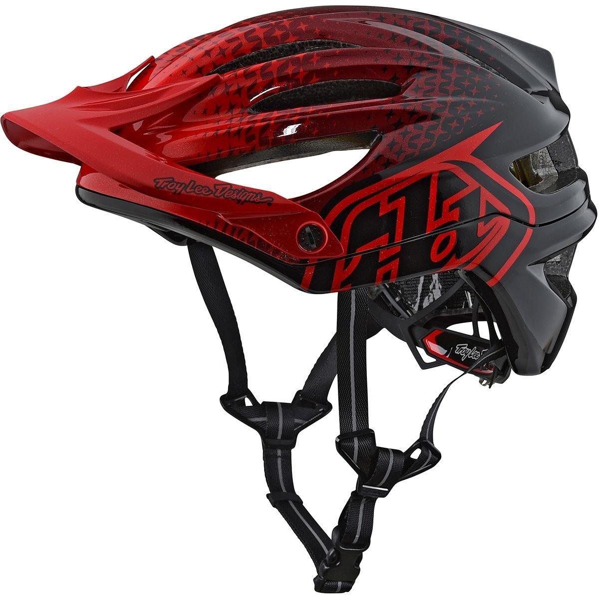 Troy Lee Designs 2018 A2 MIPSスターバースト自転車用ヘルメットレッドM/L   B075Y1TNRN