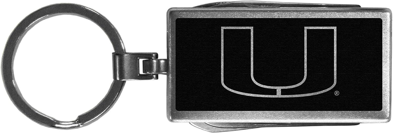 Siskiyou NCAA Unisex Multi-Tool Key Chain, Black