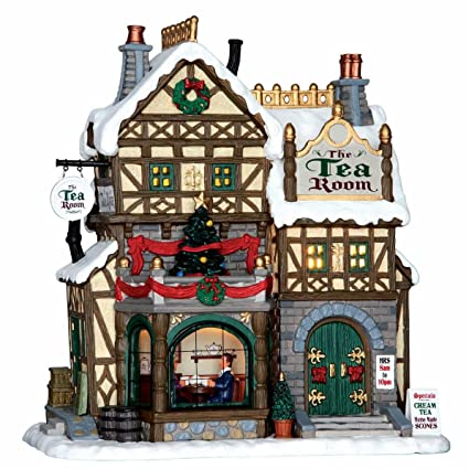 lemax christmas village the tea room 65097 by lemax - Lemax Christmas Village