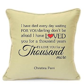 Amazon.com: Christina Perri mil años Canción de Amor Regalo ...