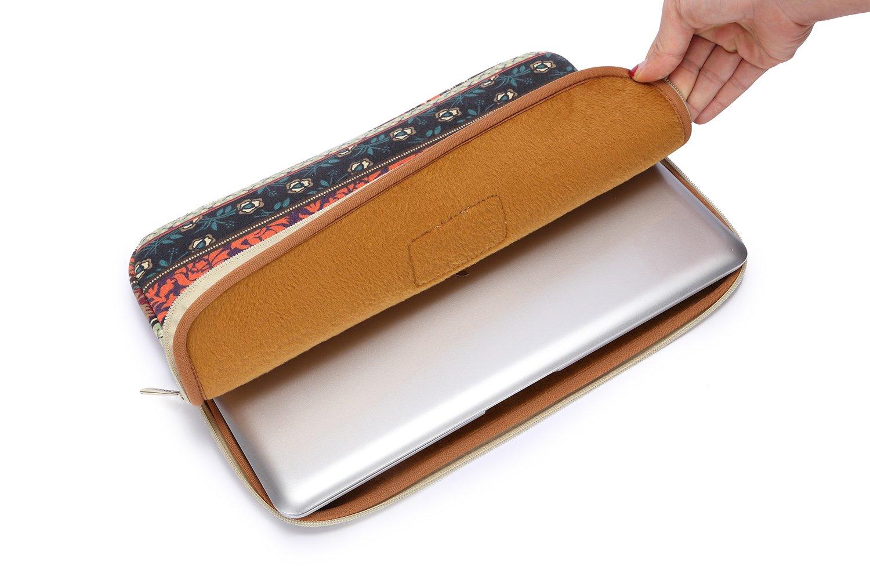 Kinmac Bohemian Style Laptop Sleeve Case for Apple MacBook Air//MacBook Pro