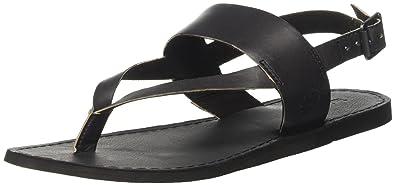 Womens Carolista Ankle Thonggunmetal Metallic Wedge Heels Sandals Timberland no7mVdh