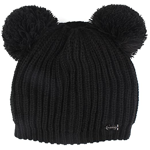 3cfa41ca4b21c FURTALK Kids Winter Hat Pom Beanie Knit Skull Cap Hats for Children Baby  Boys Girls Toddler