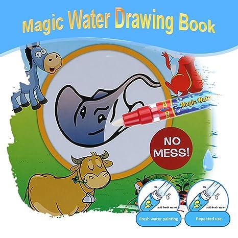 Goolsky Acqua Magica Non Tossico Disegno Libro Da Colorare Libro