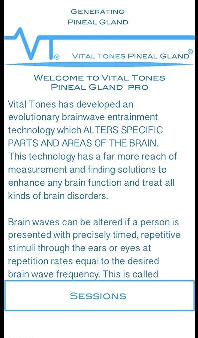 Vital Tones Pineal Gland Pro