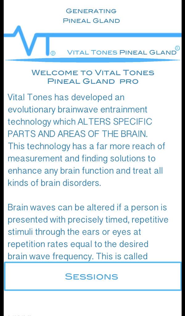 Vital Tones la Glándula Pineal Pro: Amazon.es: Appstore para Android