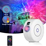 Galaxy Projector with Nebula Cloud,Star Sky WiFi Night Light Projector,Suitable for Game Rooms,Home Theatre or Baby Room…