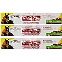 Ivermectin Paste Dewormer - 6.08g dose @ 1.87% Apple Flavor
