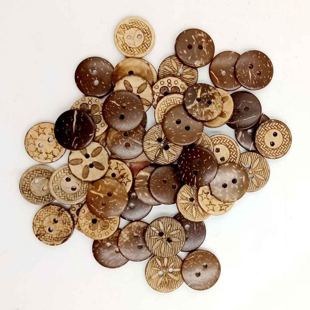 Regard Natral L Rundholzskulptur Kokosnuss Fastener Knopf Snaps Press-Bolzen-Knopfloch n/ähen Kleider Textildesign DIY