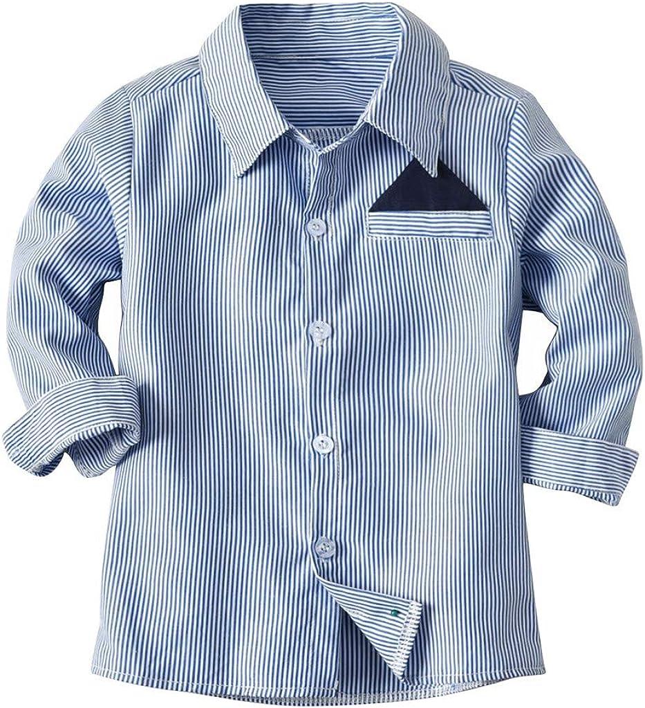 2-7 Años, SO-buts Niños Bebé Caballero Traje Rayas Camiseta ...