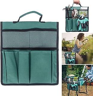 Dvluck Garden Kneeler Tool Oxford Bags 12.2x11.8 Inch with Handle for Kneeling Chair Garden Tool Bag