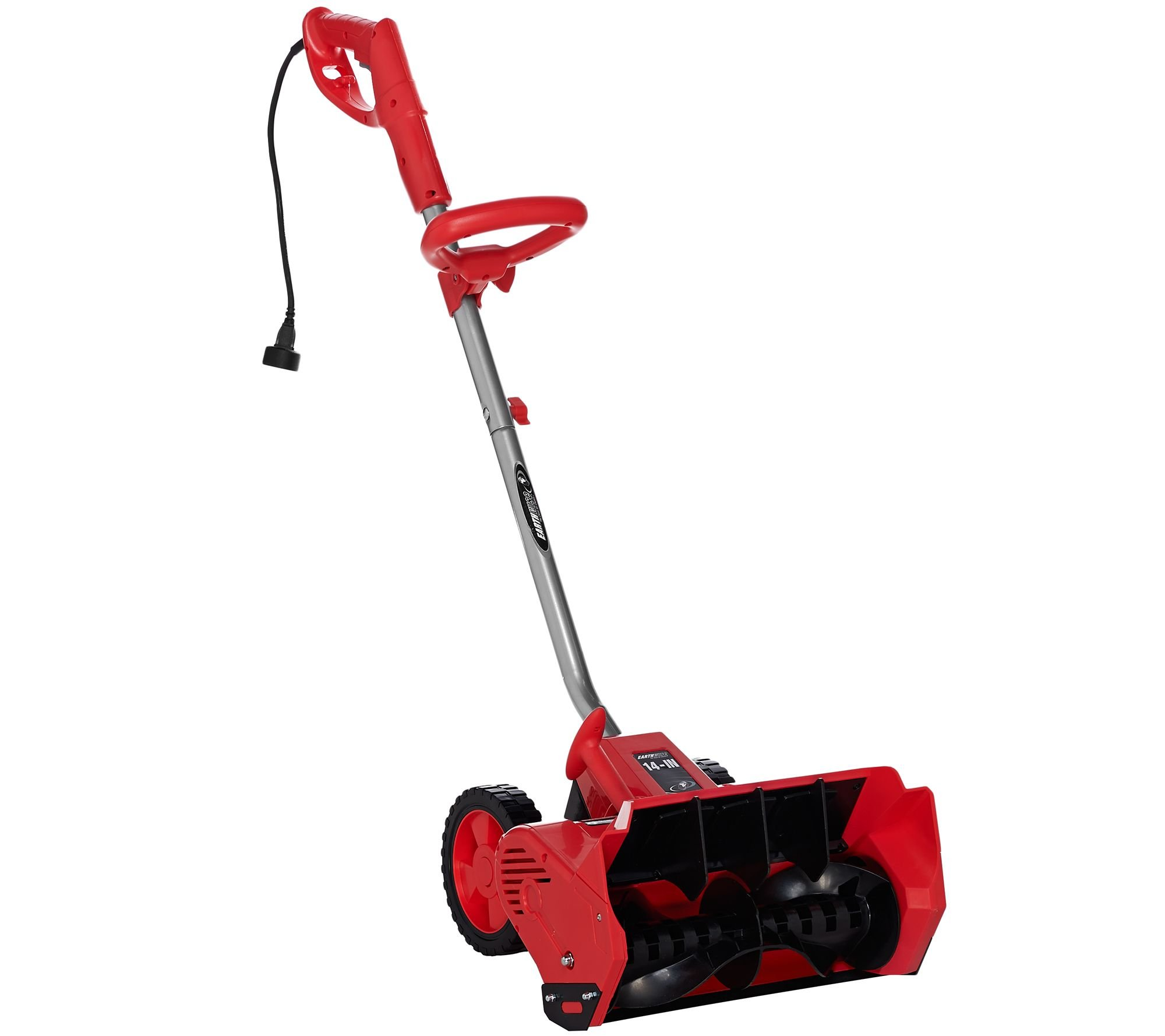 EarthWise Snow Thrower Snow Shovel 12 AMP Corded Electric 14'' - Red