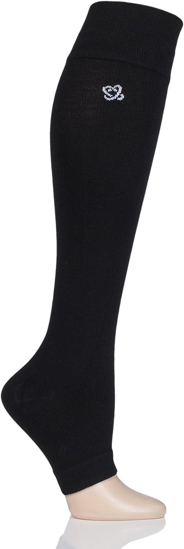Mens and Ladies 1 Pair LAtome Milk Compression Open Toe Socks