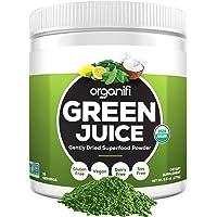 Organifi: Green Juice - Organic Superfood Supplement Powder - 30 Day Supply - USDA Certified Organic Vegan Greens- 9.5 Ounce (Pack of 1)