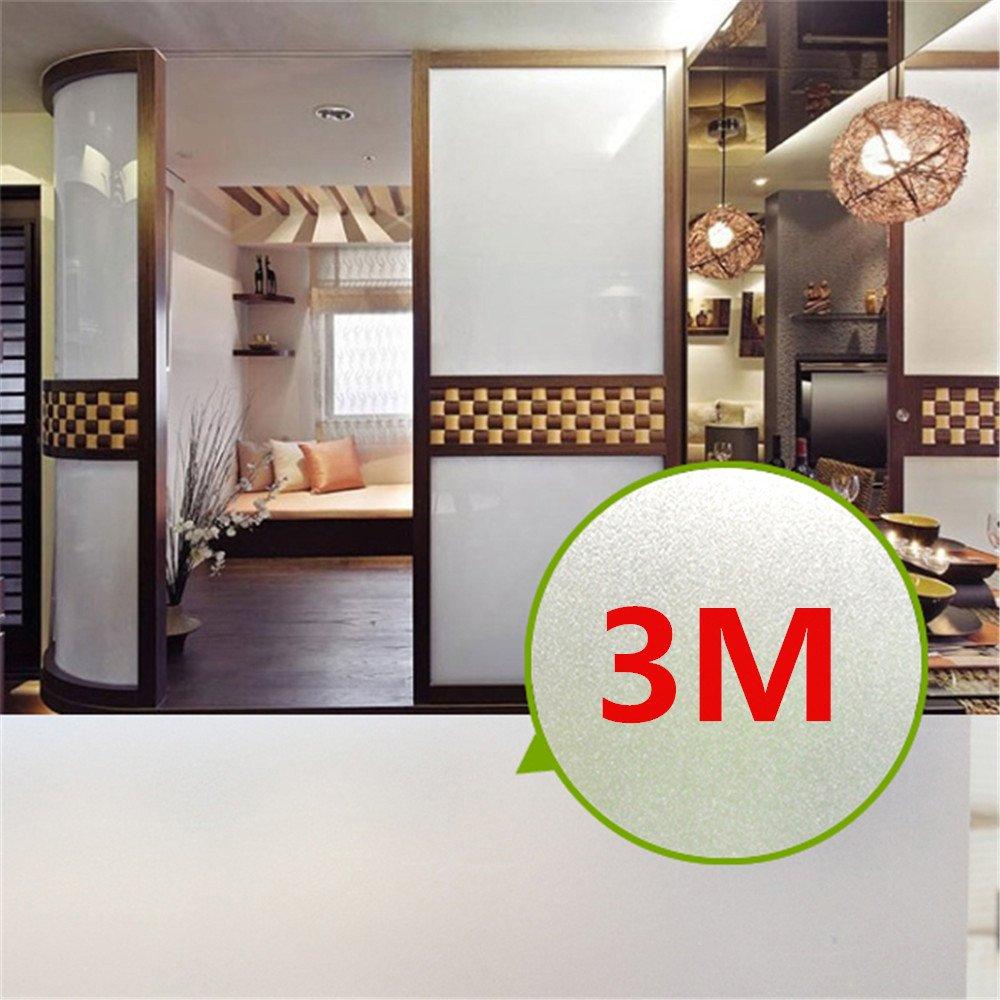 3M Fensterfolie Sichtschutzfolie Glasdekorfolie Milchglasfolie