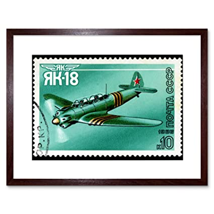 Amazon com: The Art Stop Postage Stamp USSR Vintage Aviation