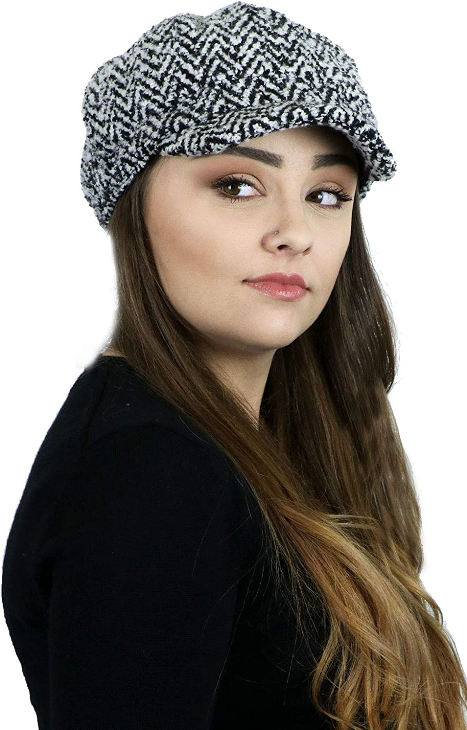 Newsboy Cap Cancer Headwear...