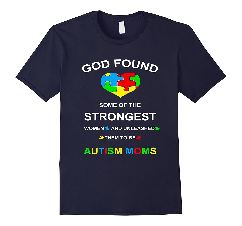 Autism Shirts - Autism Awareness Mom T-shirts-BN