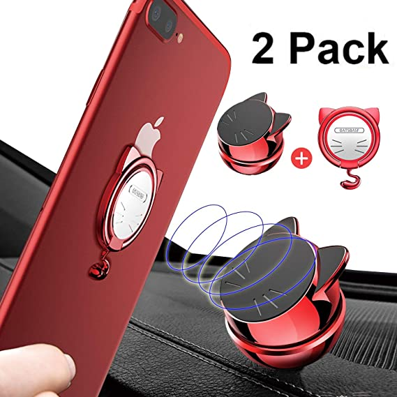 finest selection dc1e6 5da39 Amazon.com: Magnetic Car Mount Holder,Lucky Cat Mobile Phone Buckle ...
