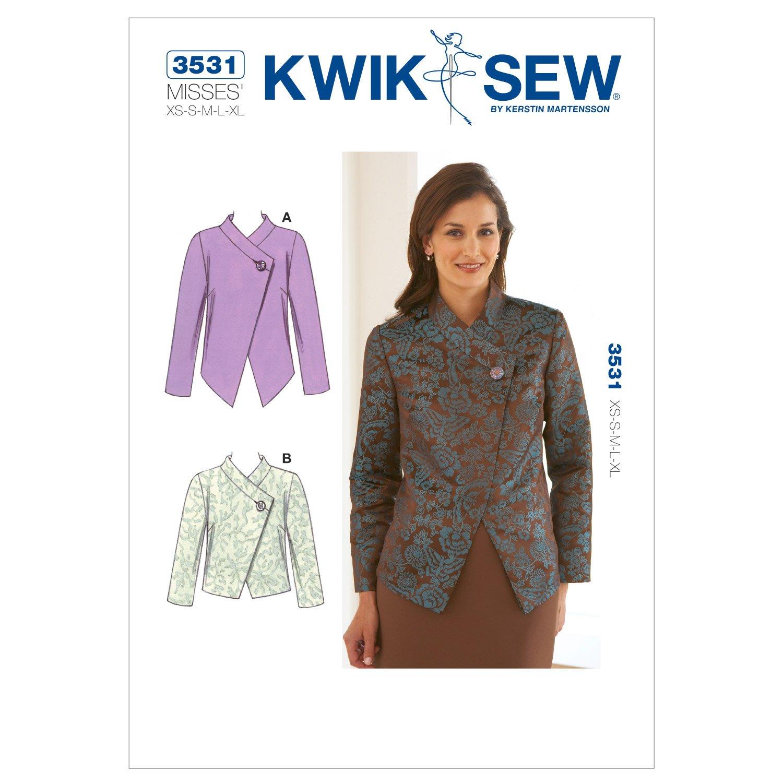 McCall\'s Pattern Kwik Sew K3531 - Patrón e instrucciones para coser ...