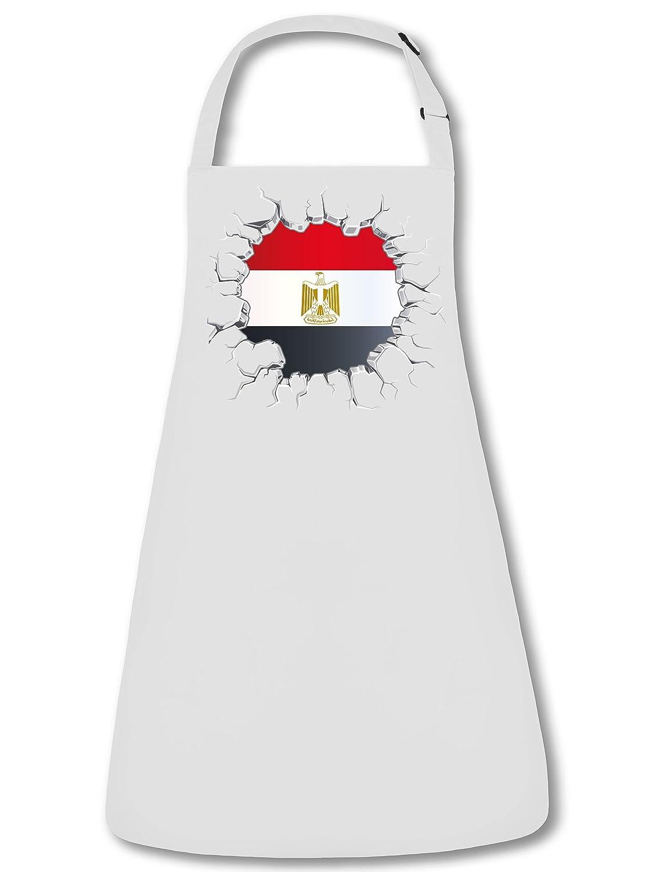 FAN SCHÜRZE Ägypten 5697 Grillschürze (Weiss)