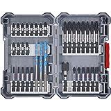 Bosch Professional 35 unidades para taladrar y atornillar (Pick and Click, accesorios para atornilladores de impacto…