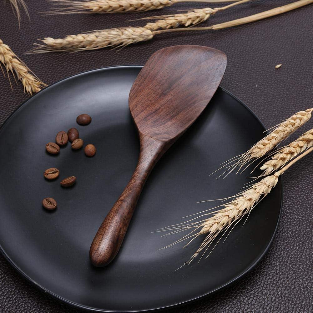 Cuill/ère /à riz en bois naturel anti-adh/ésif Spatule en bois