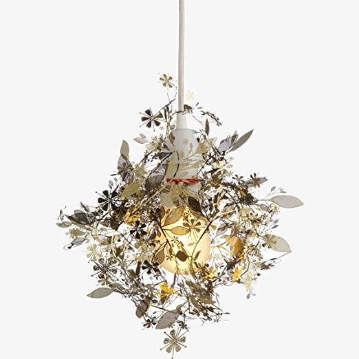 Elegant decorative light shade design habitat tord boontjes garland light shade flower lamp pendant chandelier