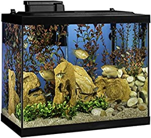 Tetra 20 Gallon Complete Aquarium Kit w/ filter heater LED & plants