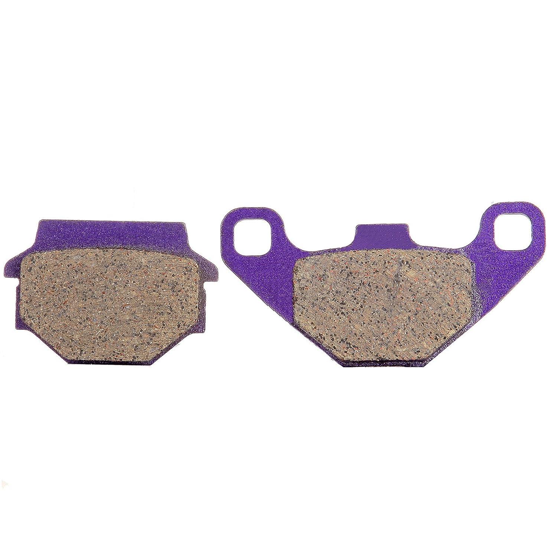 ECCPP FA67 Brake Pads Front and Rear Kevlar Carbon Fiber Replacement Brake Pads Kits Fit for 1988 1989 1990 1991 1992 Kawasaki KDX200 991276-5211-1456363093