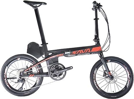 "ROCKBROS SAVA Bicicleta Eléctrica Plegable E8 20"" de Fibra de ..."