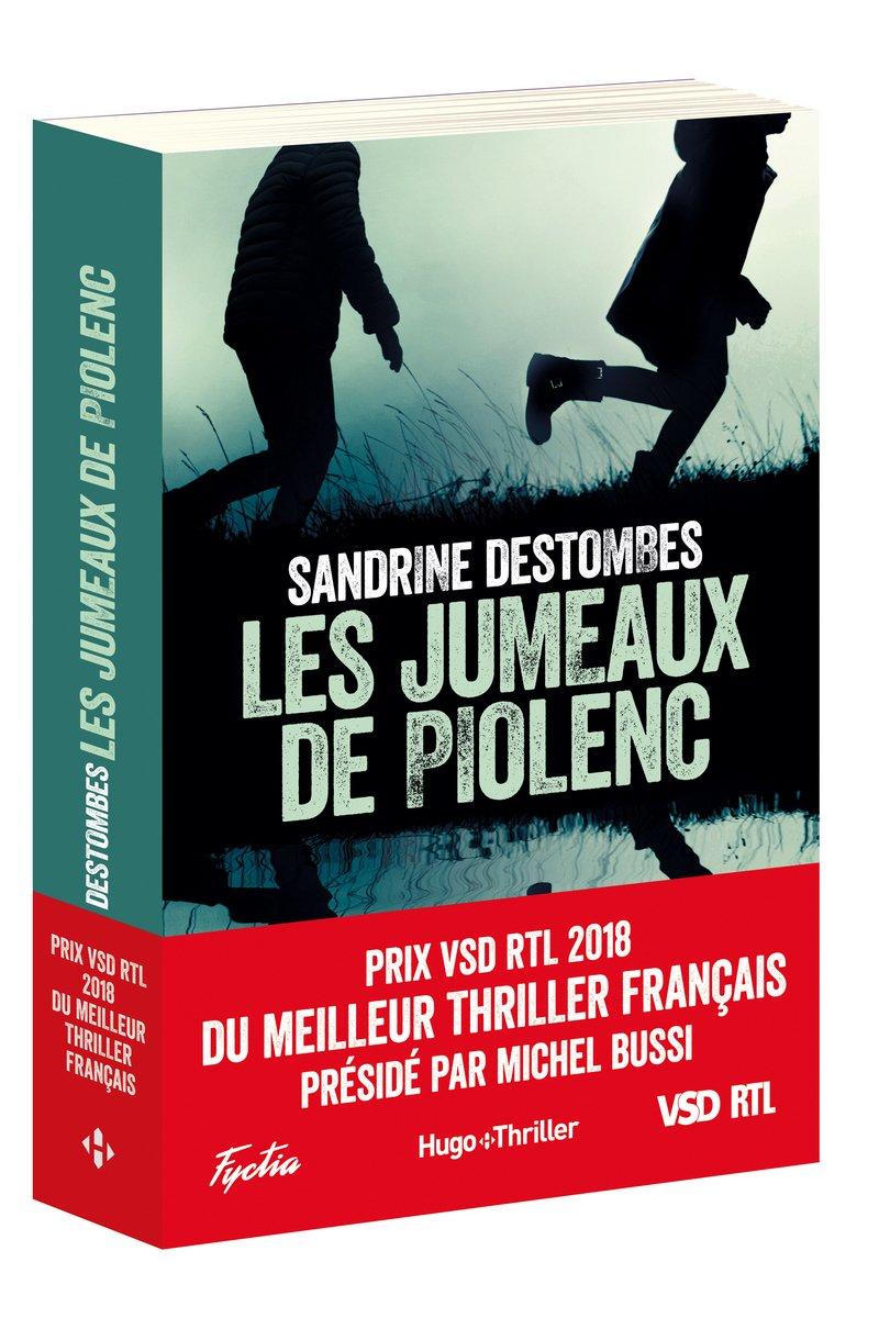 Amazon.fr - Les Jumeaux de Piolenc - Prix VSD RTL du Meilleur Thriller  Français Présidé par Michel Bussi - Sandrine Destombes - Livres 704ea392ab5