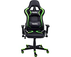 Cadeira Gamer Thunder Preto e Verde
