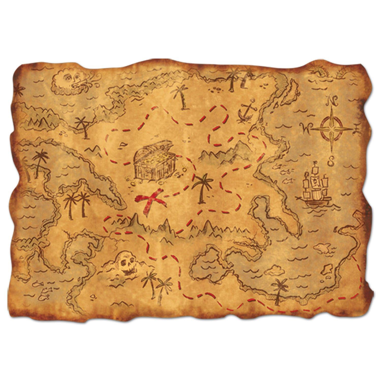 Pirate Treasure Map Rug: Amazon.com : Pirate Treasure Chest Full Of Gold (Chocolate