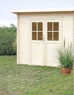 Casa Jardín Erika madera nordico gartenpro 248 x 218 x 198/213h