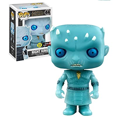 Funko POP! Game of Thrones Glow in the Dark Night King Vinyl Figure #44 Exclusive: Toys & Games