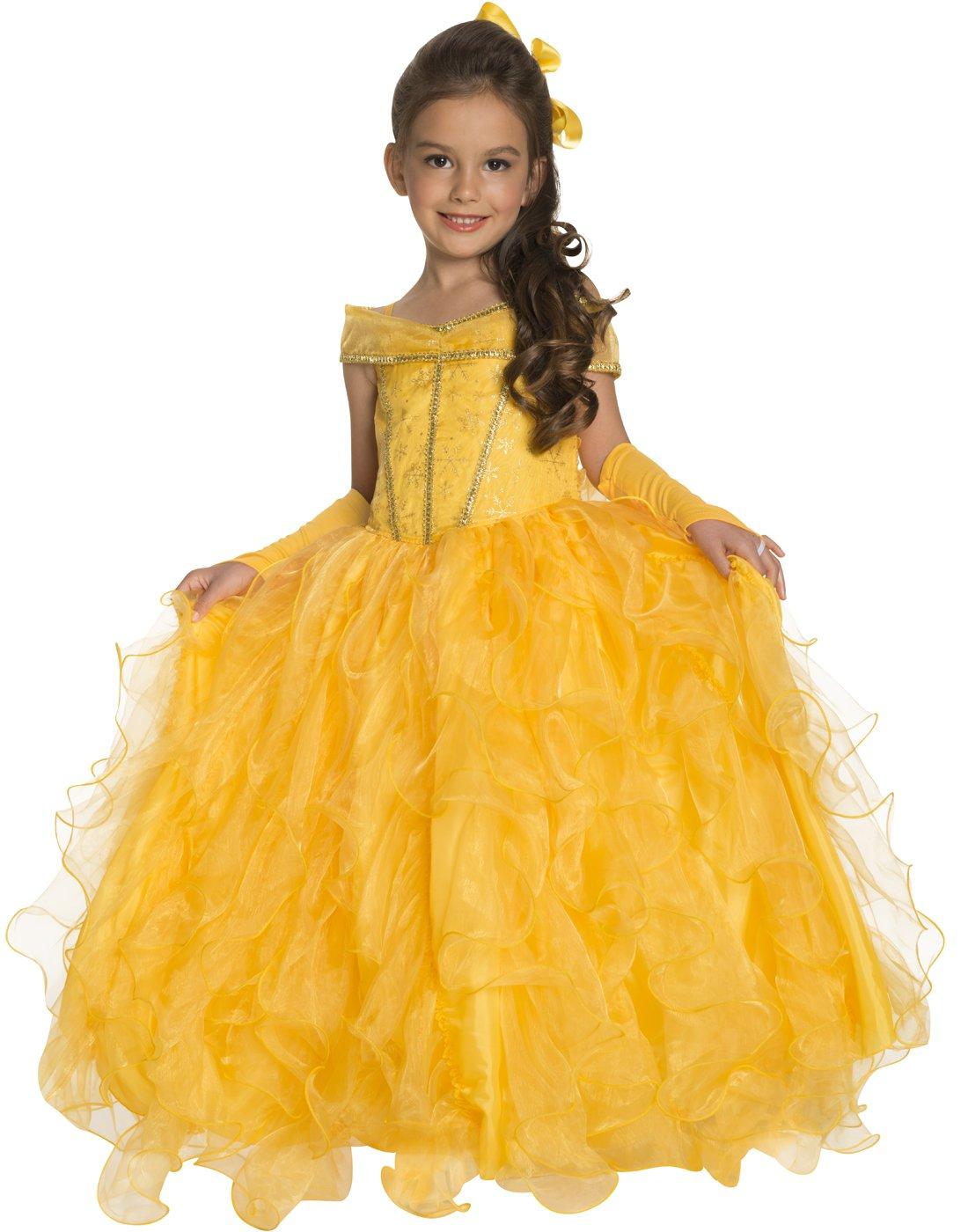 Rubie's Deluxe Princess Jessica Costume, Yellow, Small