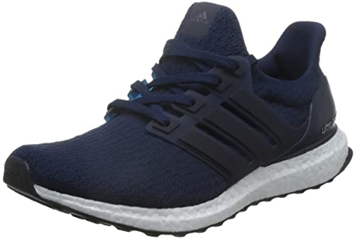 Kaufen 2017 Herren Adidas Ultra Boost Weiß Navy Blau Lauf