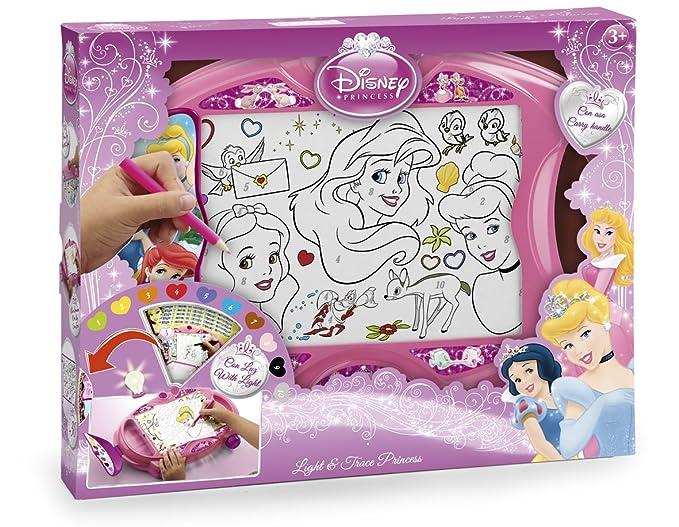Famosa - Arts & Crafts, Light Box Disney Princess (700005247)