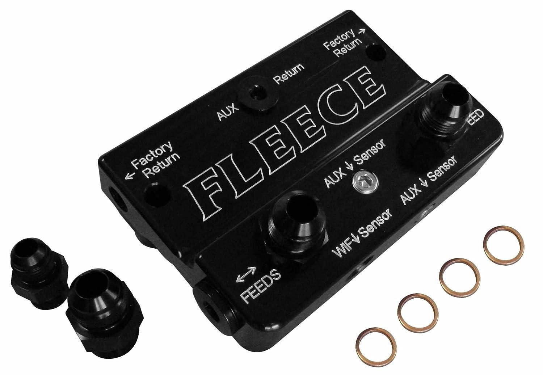Fleece Performance Engineering FPE-FFD-RF-4G Fuel Distribution Block (10-12 Dodge 6.7L Cummins 4th Gen)